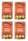 KTC Kala Chana in Salted Water 400g Brown Chana High In Protein & Fibre