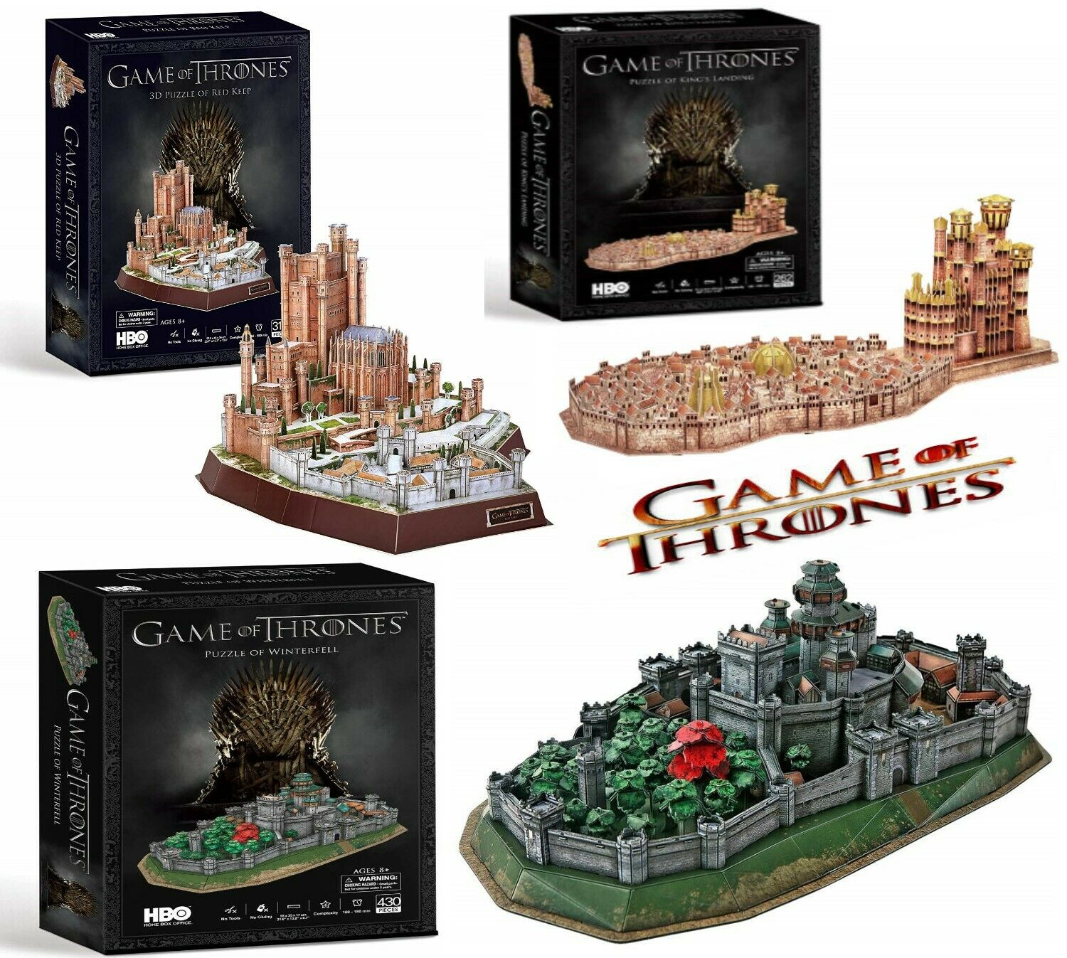 Game of Thrones King/'s Landing 3D Puzzle