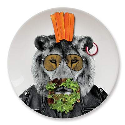 Wild Dining - Larry The Lion Dinner Plate