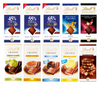 Lindt Swiss Excellence Cocoa Creation Milk Dark Chocolate Bars