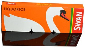 Swan Liquorice Cigarette Rolling Papers - 50 Booklets
