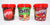 Skittles M&M's Maltesers Fruits Chocolate Buttons Bucket