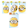 Minions Masks Despicable Me 2 Bob, Dave, Stuart, Kevin Party Face Masks