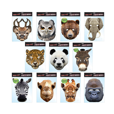 Fancy Dress Animal Party Masks Hen Stag Fun Celebration Birthday Party