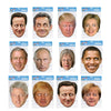 Politician President Prime Ministers Party Fancy Dress Masks Fun