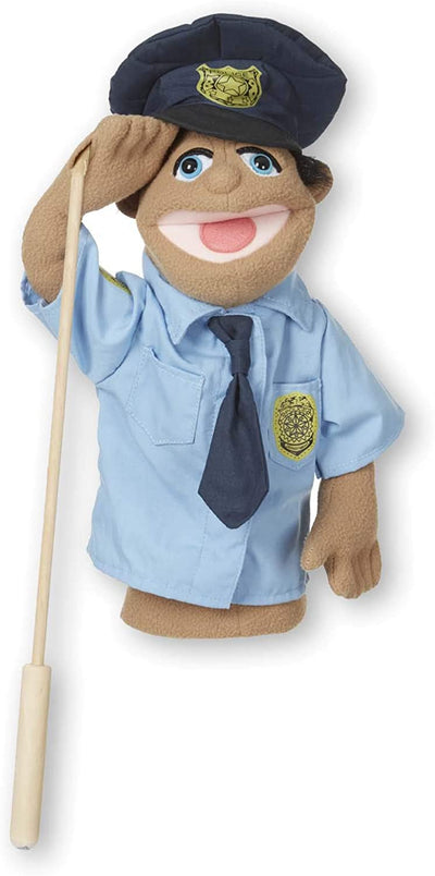 Puppets & Plush Toy - Police Officer Puppet Melissa & Doug 40351