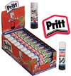 Pritt Glue Stick Large 43g Washable - Pack Of 3, 5, 10, 15, 20, 25