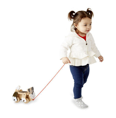 Melissa & Doug - Playful Puppy Pull Toy