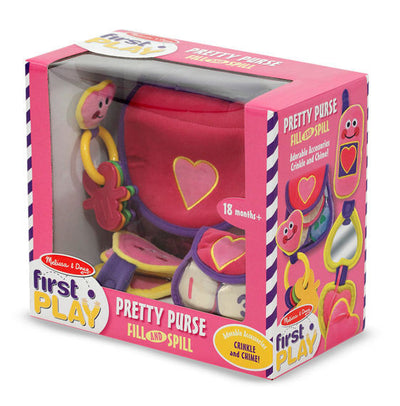 Melissa & Doug - Pretty Purse Fill and Spill Toddler Toy