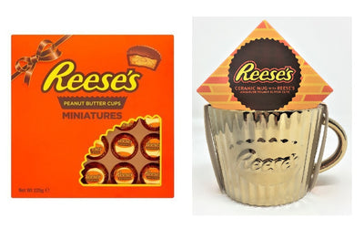 Reese's Peanut Butter Snowman Favourite Collection Chocolate Christmas