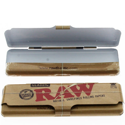 RAW Small Tray + Raw Kingsize Papers, Mat, Tips, Sachet & Tobacco Tin