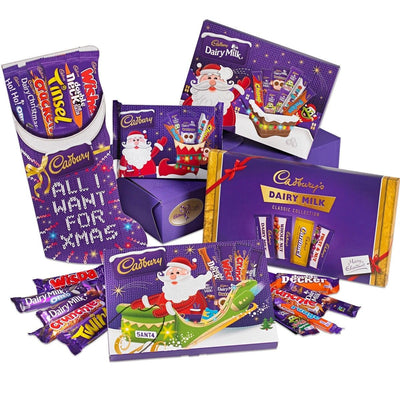 Cadbury Mega Christmas Chocolate Selected Box Tub Tin Advent Calendar