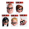 The Incredibles Face Masks Mr & Mrs Incredible Dash Violet Jack Jack