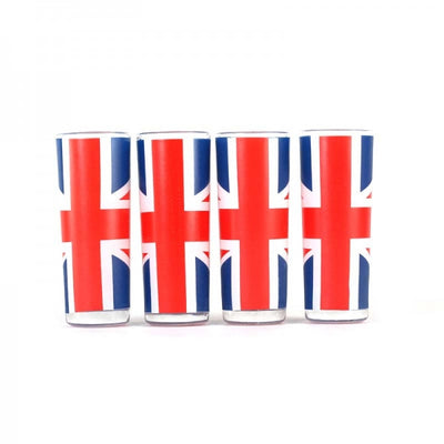Union Jack Shot Glasses