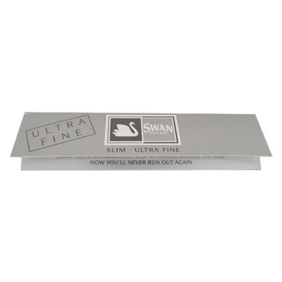 Swan Silver King Size Slim Rolling Papers - Box of 50 Booklets