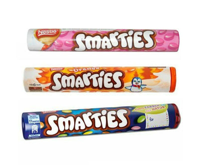 Nestle Smarties Orange Milk Chocolate 130g Ideal Gift