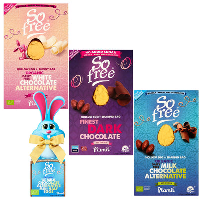 So Free Organic Finest Milk Dark White Chocolate Easter Egg Gift