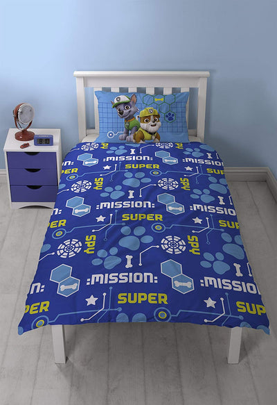 PAW PATROL SPY SINGLE DUVET