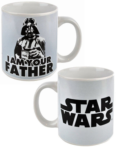 Father's Day Gift Box Star Wars Mug, Glass and Lindt Golf Balls
