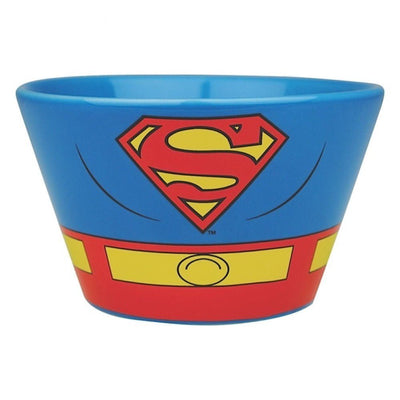 Superman Costume Bowl with Mug & Chocolate Gift Box Hamper