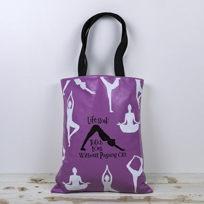 The Bright Side - Super Bendy Yoga Chick Tote Bag