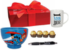 Superman Zoom Bowl with Mug & Chocolate Gift Box Hamper