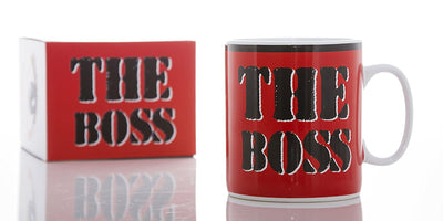 "The Boss"" Massive Mug - Red"