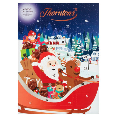 Thorntons Chocolate Selection Gift Christmas Pack Advent Calendar Any Occasions
