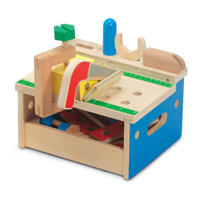 Melissa & Doug - Hammer & Saw Tool Bench