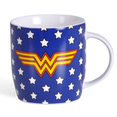 Mother's Day Gift Set with Wonder Woman Stars Mug & Teddy Bear