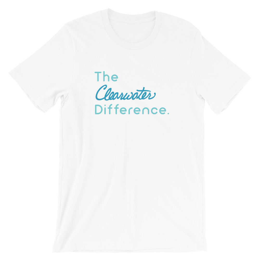 The Clearwater Difference Short-Sleeve Unisex T-Shirt