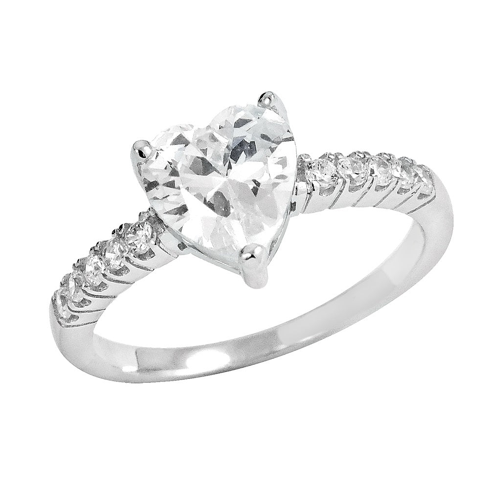 Heart Cut Engagement Ring - Voare Jewelry
