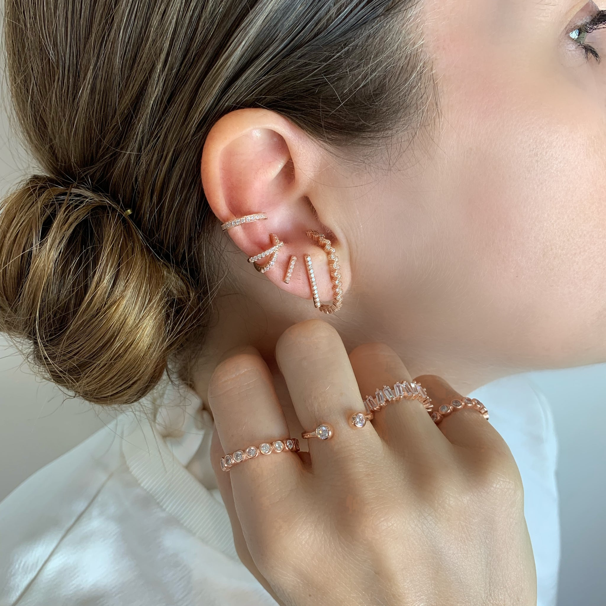 Wrap Ring - Rose Gold - Voare Jewelry
