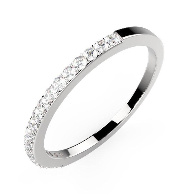 Wedding Band - Sterling Silver - Voare Jewelry