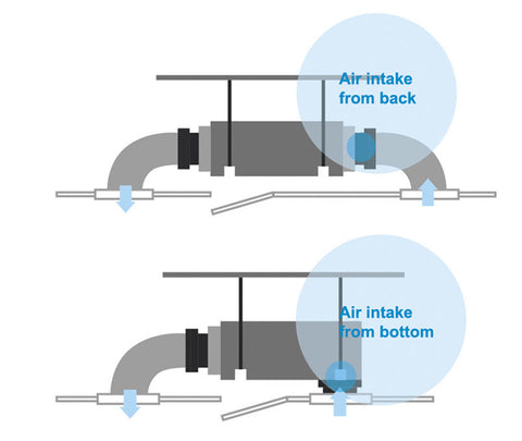 Convertible Return Air Provision