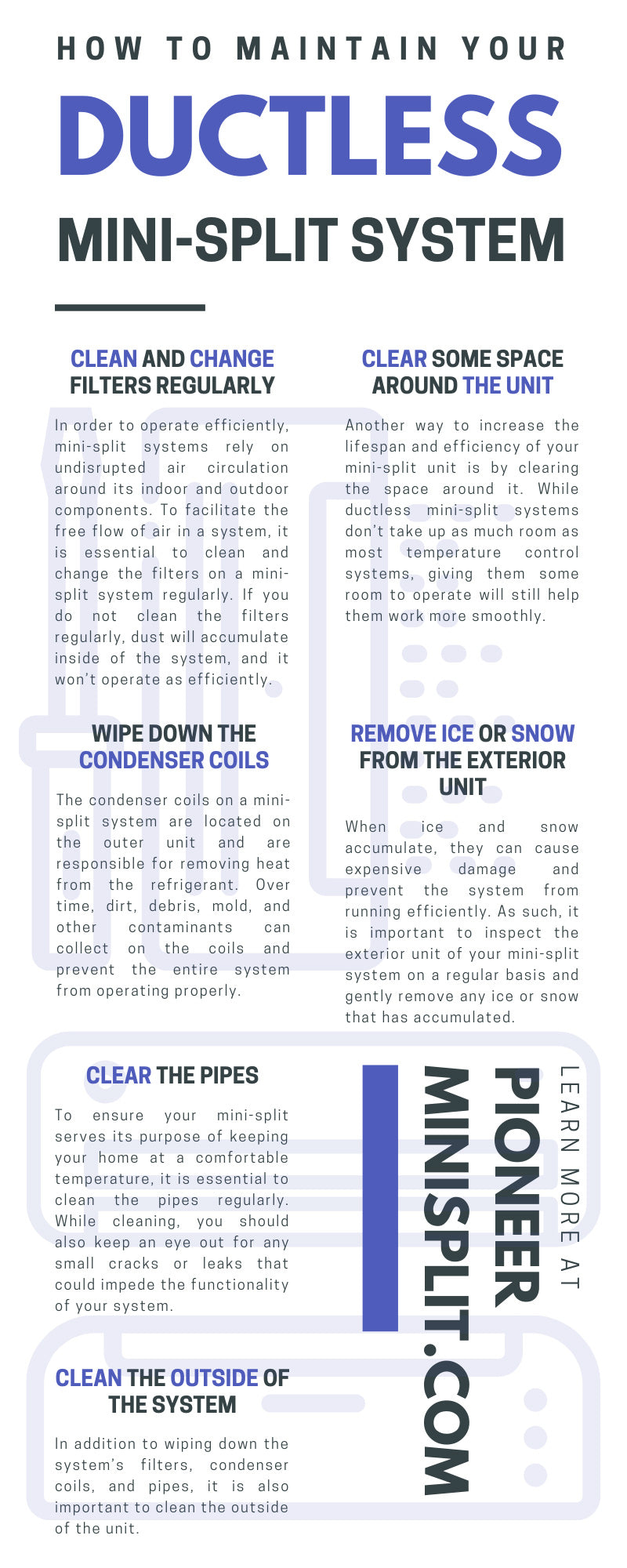 Maintain Your Ductless Mini-Split System