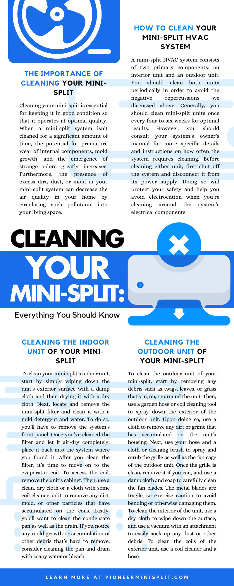 Cleaning Your Mini-Split: Everything You Should Know