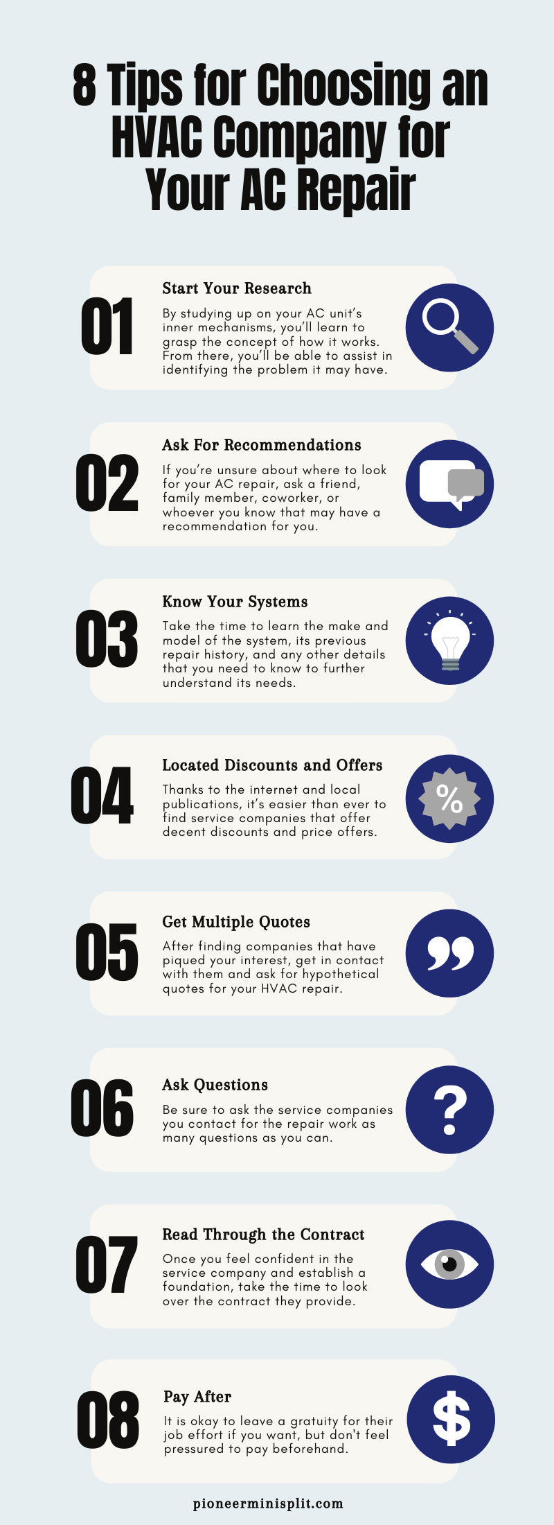 10 Tips for Choosing an HVAC Company for Your AC Repair