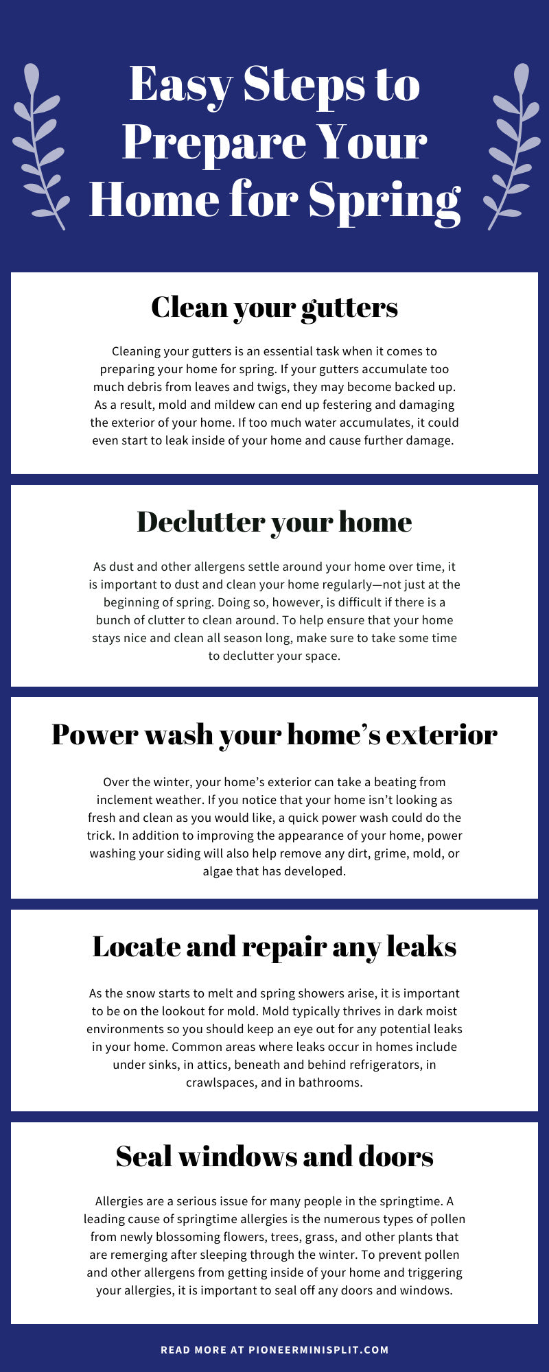Easy Steps to Prepare Your Home for Spring