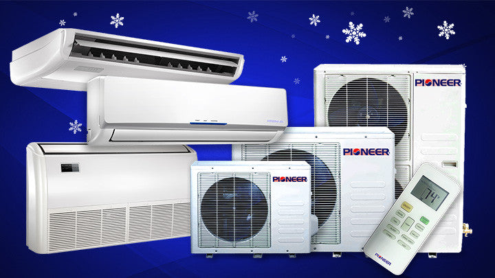 Floor - Ceiling - Low Wall Ductless Mini Split – Pioneer