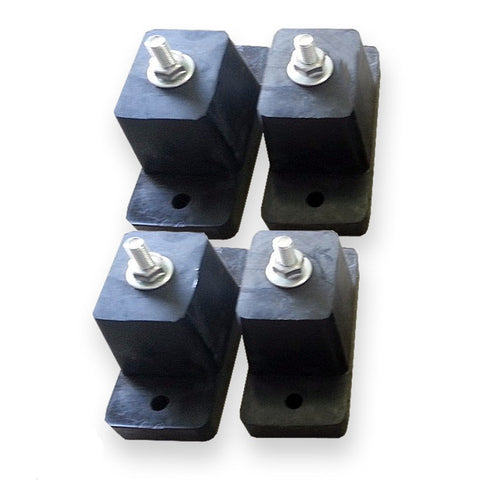 4 Piece Rubber Vibration Absorber