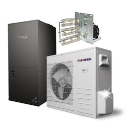 Pioneer® 36,000 BTU 18 SEER Ducted Central Split Air Conditioner Heat Pump System