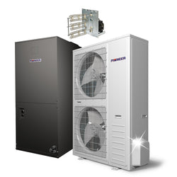 Pioneer® 56,000 BTU 17.5 SEER Ducted Central Split Air Conditioner Heat Pump System