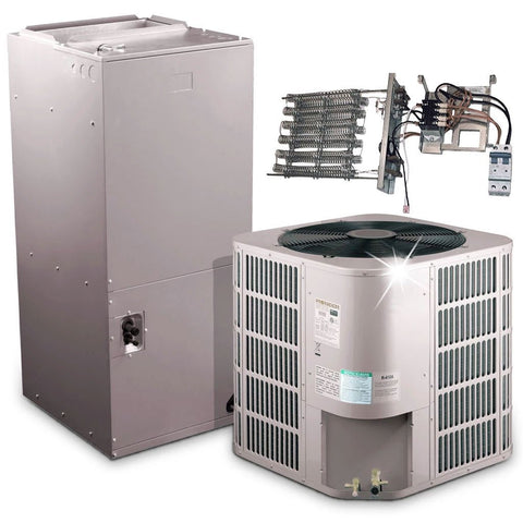 Pioneer® 36,000 BTU 17.5 SEER Ducted Central Split Air Conditioner Heat Pump System