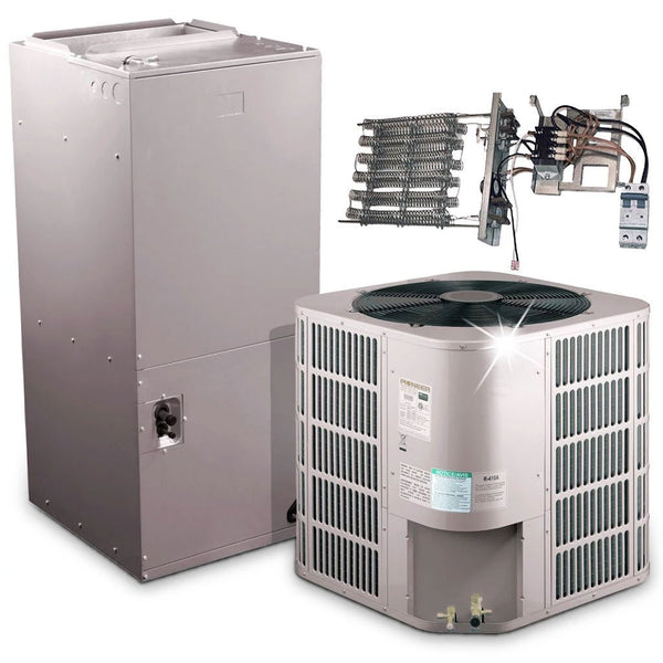 Pioneer® 24,000 BTU 17.5 SEER Ducted Central Split Air Conditioner Heat Pump System