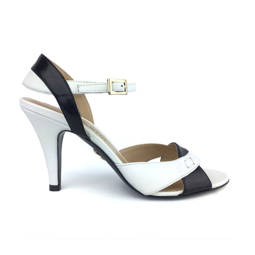 Black & White Sandal