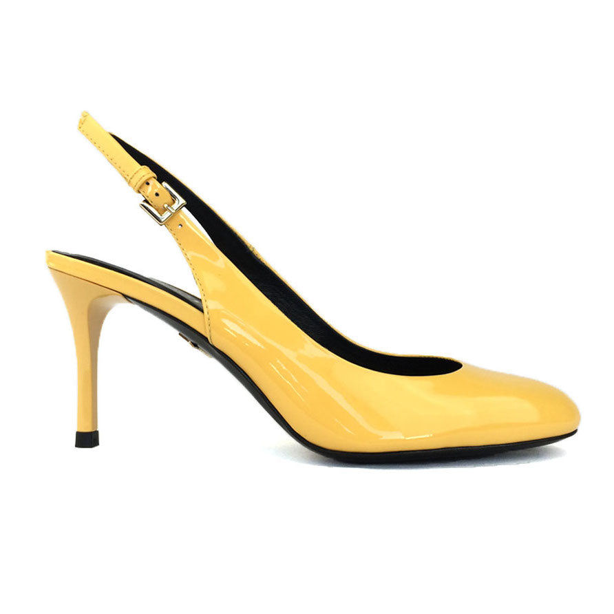 Yellow Sling Back