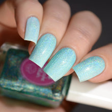Bubblegum Icing - Holographic Transforming Topcoat