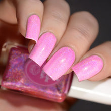 Strawberry Icing - Holographic Transforming Topcoat