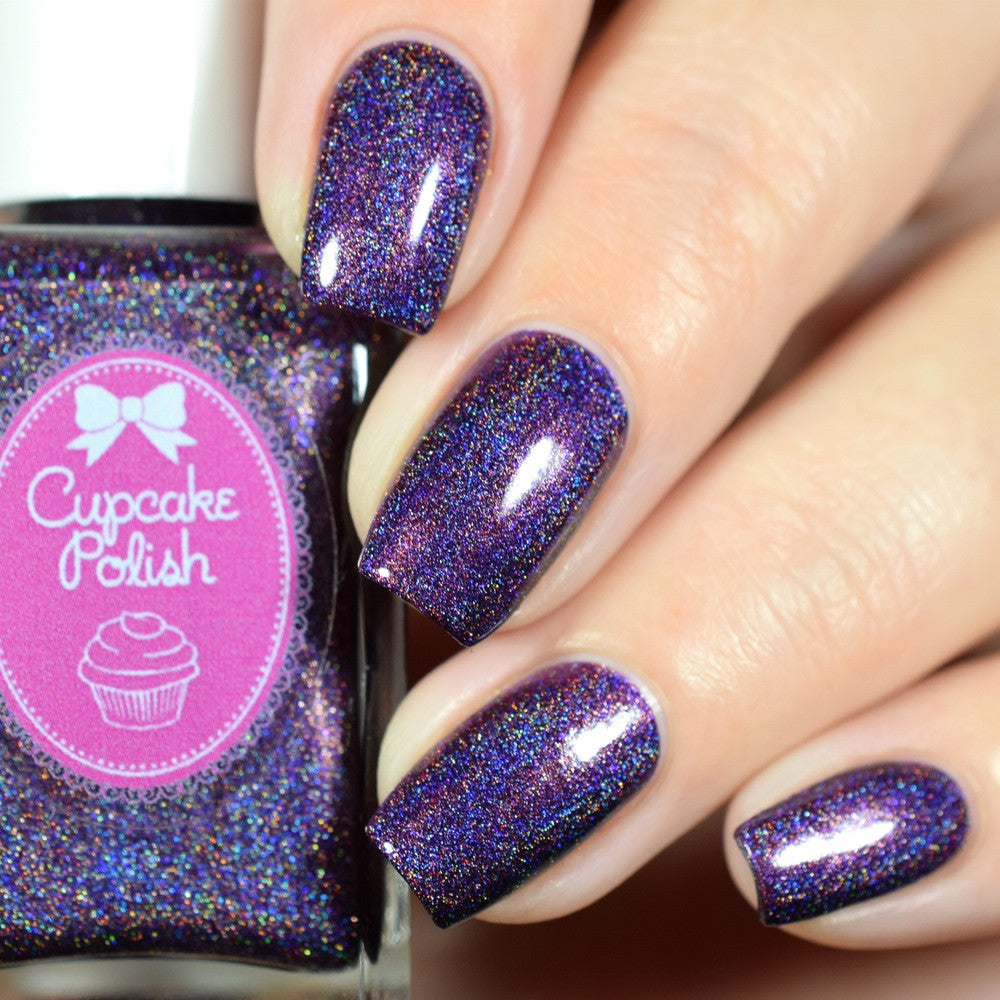 Plum Perfect - Holographic Indie Nail Polish by Cupcake Polish